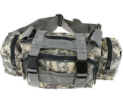 Cp Color Waist Bag Pack Outdoor Military Tactical Hiking Camping  Trekking