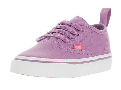 Vans Toddlers Authentic V Lace (Pop) Skate Shoe