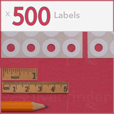 308ct Paper Hole Reinforcements — Label Sticker Binder Ring Punch Hole Protector