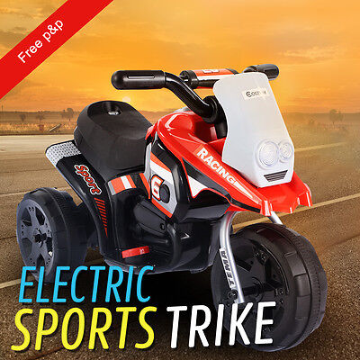 Motorbike Kids Ride On Motorcycle 6V Electric Battery Scooter Car Bike Toy Boys