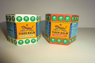 Tiger Balm 18gm / 21 ml     WHITE OR RED ** SPECIAL PRICE**  latest stock