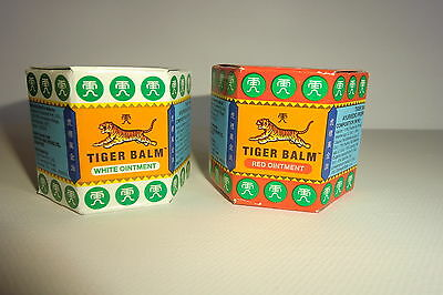Tiger Balm    9ml     WHITE OR RED ** SPECIAL PRICE**  latest stock original
