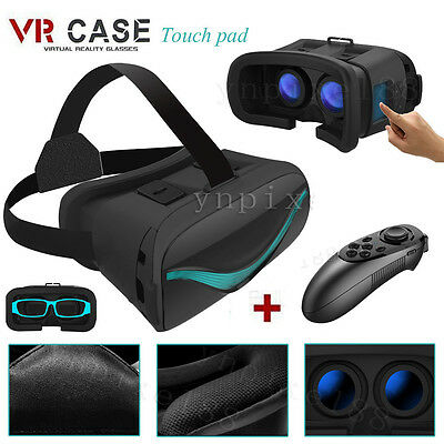 VR Touch Board Virtual Reality 3D Glasses Headset W/ Remote For Smart Phones