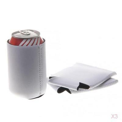 30pcs Stubby Beer Bottle Tin Can Cooler Holder Wrap Wedding Party Favor