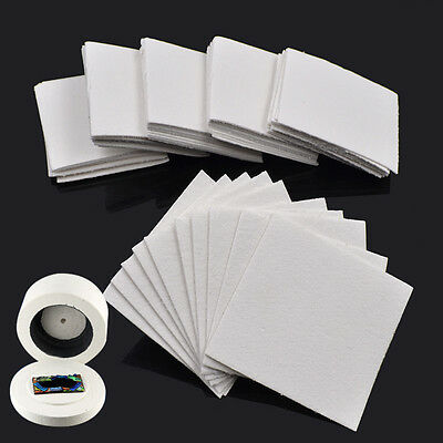 10/50 Sheets Paper Mat for Microwave Kiln Glass Fusing for DIY Glass Jewellery