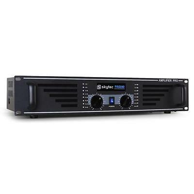 Skytec Pa 240 Watt Karaoke Pa Amplifier Dj Party Disco Pro Amp Sound System