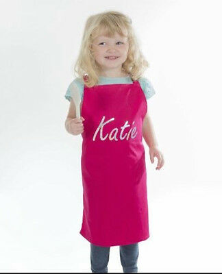 Childrens Personalised Aprons - Kids Baking Cooking Apron - Gift Idea