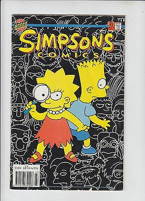 Bongo Comics Simpsons No 3 Double-Sided with Krusty Agent of K.L.O.W.N. - 1994