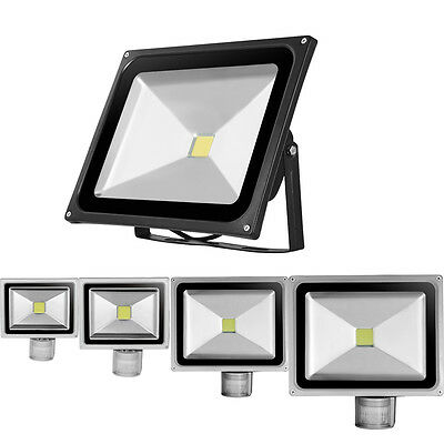 LED Security Floodlight 10W/20W/30W/50W/100W Flood Light Outdoor Garden Lights