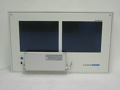 S-CAPE / PLANILUX medical multiconsole PC-System Windows XP f. den OP-Bereich D2