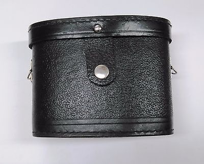 Leather binocular case