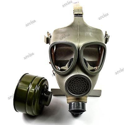 Vintage Czech army gas mask CM-4. CZ military gas mask NEW