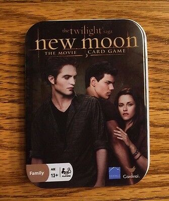 "The Twilight Saga ""New Moon"" The Movie Card Game (Never Opened)"