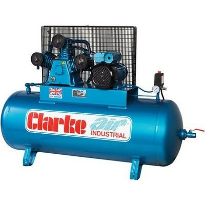 Clarke 4Hp XET19 Industrial Electric Air Compressor 200Ltr. 18cfm