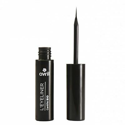 Avril Natural Organic EcoCert Black Liquid Eyeliner 3.5ml