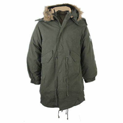 Warrior fishtail parka with detachable hood and lining size small-2XL