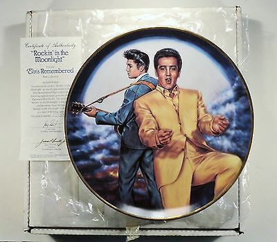 """""""Rockin In The Moonlight"""" Elvis Remembered Series by Susie Morton - Limited Ed."""
