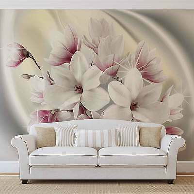 WALL MURAL PHOTO WALLPAPER XXL Magnolia Flowers (3018WS)