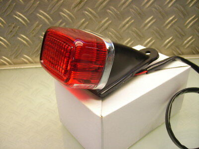 Stop Rear Tail Light Lamp Yamaha Italia Us/tt 6Volt (!) Rücklicht Xt 250 Xt 500