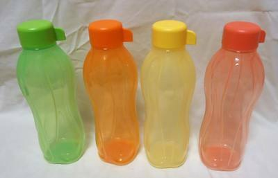 Brand New Tupperware set of 4 gorgeous ECO BOTTLES (reduced price!)