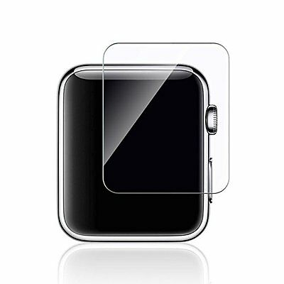Apple Watch Screen Protector Tempered Glass Cover 2 Pack Premium 42mm Series 1/2