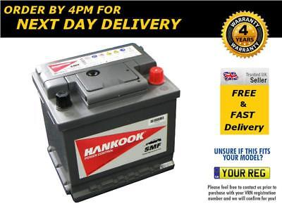 063H Car Battery, Hankook MF54459 Battery, 12V Charged & Ready to Use
