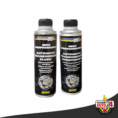 Kit Additivo Cambio Automatico a Nanotecnologie Flush + Conditioner Powermax