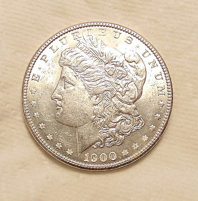 1900-P Morgan Silver Dollar - Scarce VAM 11 DDR - Pretty AU+ Coin