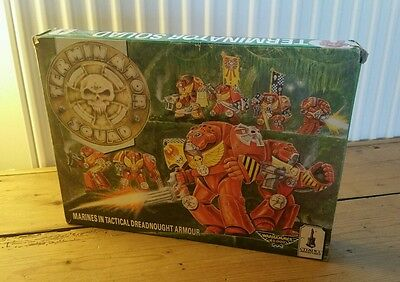 Space Marine Terminator Squad - Boxed 1989 - Warhammer 40k Citadel Dreadnought