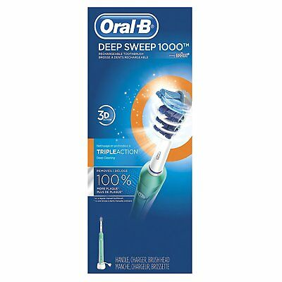 Oral-B Pro 1000 Deep Sweep Electric Rechargeable Power Toothbrush NEW