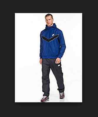 Mens NIKE Hooded Warm up Football Tracksuit Top and Bottoms - Medium & Large