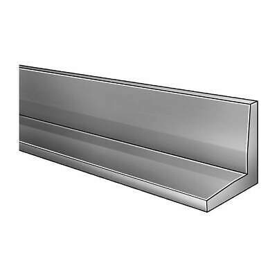 GRAINGER APPROVE Stainless Steel Angle Stock,304SS,1/4 In T,2 In Leg,7 ft, 4YTP2