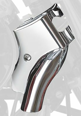 Chrome Neck Covers (2) for Kawasaki VN900 Vulcan Classic Show Chrome 71-325