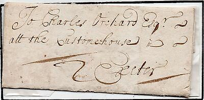 1704 Cornwall entire / letter stated to be the earlist know from Callington