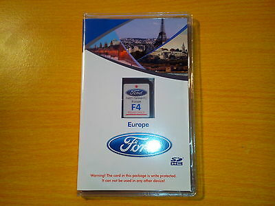 sd card satnav gps ford europe F4  2015