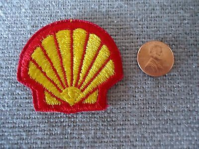 Vintage Shell Oil Company Patch New Old Stock
