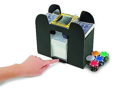 2-Deck Automatic Casino Card Shuffler Playing Card  Machine New GREAT Gift IDEA
