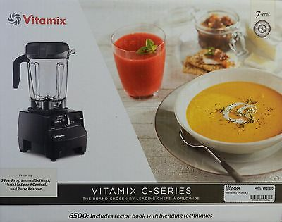 Vitamix C-Series VM0102D 6500 Blender With Recipe Book And Tamper New!!!