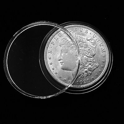 5 AirTite Direct Fit Coin Capsule Holders Silver Dollars Morgan Peace Ike H38