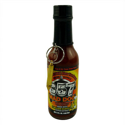Mad Dog 357 Gold Edition Hot Scoville with No.9 Plutonium (Schärfe 10+++)
