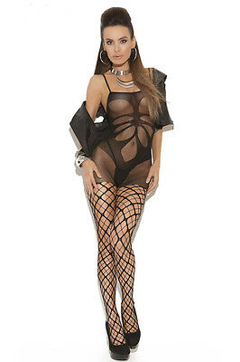 HOT QUALITY SHADE MESH Floral Bodysuit BNWT Tights Catsuit Bodystocking
