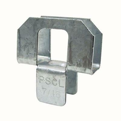 """New Simpson Strong-Tie -Pscl7/16- 20-Gauge 7/16"""" Plywood Sheathing Clip (250Box)"""