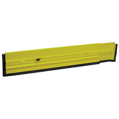 TOUGH GUY Expandable Floor Dam, 24 to 40 In., 6DMY1, Green, Yellow