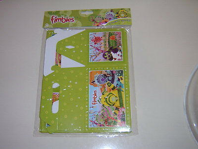 Fimbles - Party Food Boxes - Pack Of 6 - New