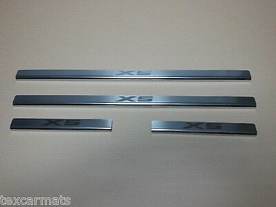 BMW X5 E53 1999-2006 Stainless Steel Door Sill Guard Scuff Protectors 4 pcs