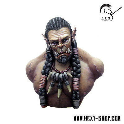 Overlord Hard'al – Orc Bust - Werewoolf Miniatures
