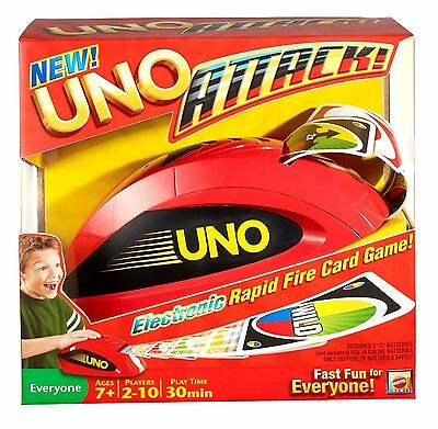 Mattel UNO Attack Card Game NEW Family Games