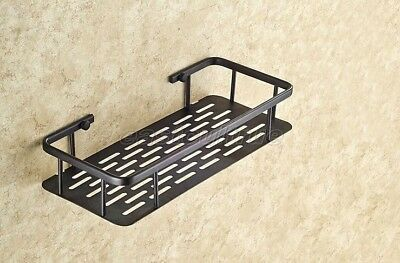 Bathroom Oil Rubbed Brass Shower Wall Mount Basket Shelves Caddy Storage eba528