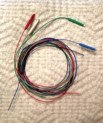 cartridge pin connectors lugs tags clips turntable phonograph 16 or 40 64 cm tonearm wire set cable 30 awg cartridge clips installed