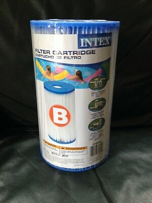 Intex Type B Pool Filter Cartridge for Pools, Summer Maintenance